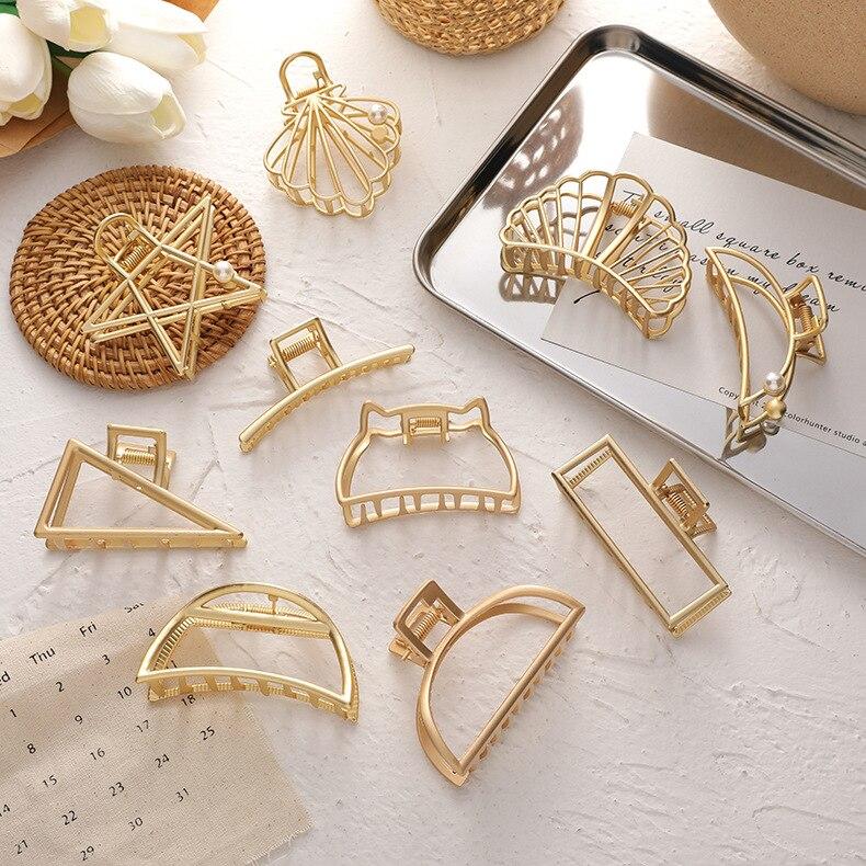 Купить huanzhi 2020 новая металлическая геометрическая выдолбленная