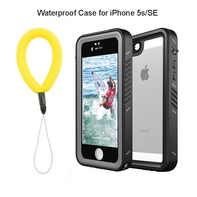 Custodia impermeabile reale per iPhone 11 Pro X XS Max 5s 6 6S 7 8 Plus SE 2020 custodia protettiva antiurto per immersione allaperto