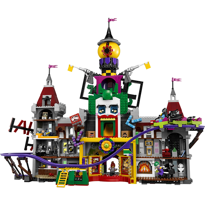3616pcs Lepining Creator Expert City Street View MOC The Joker Manor Park Model Building Blocks Bricks Gift Toys For Children