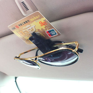 Car Auto Sun Visor Glasses Sunglasses Clip for renault scenic cc chevrolet niva renault captur passat b4 skoda fabia bmw(China)