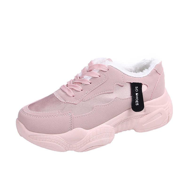 LZJ 2019 yeni kadın ayakkabı bahar yeni kadın ayakkabısı Ulzzang Platform spor ayakkabı kadın bilgelik ayakkabı kadın sneakers