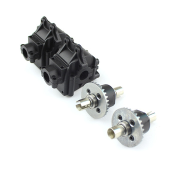цена на Wltoys 144001 Wltoys 144001 parts 1254 Gear Box Assembly 1309 Differential RC Car parts for WLtoys 1:14 Remote Control Vehicle