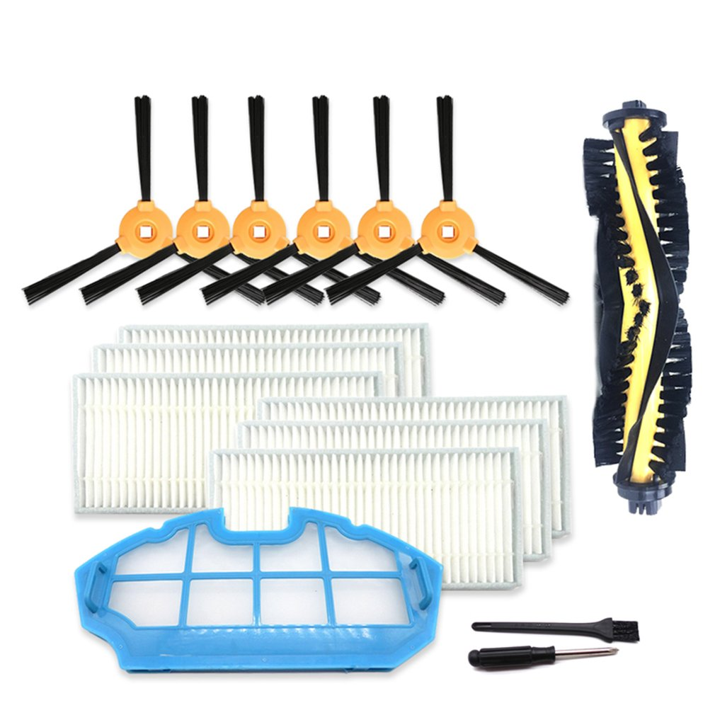 Replacement Accessories Kit For ECOVACS DEEBOT N79S N79 Robotic Vacuum Cleaner Durable Brush HEPA Filter