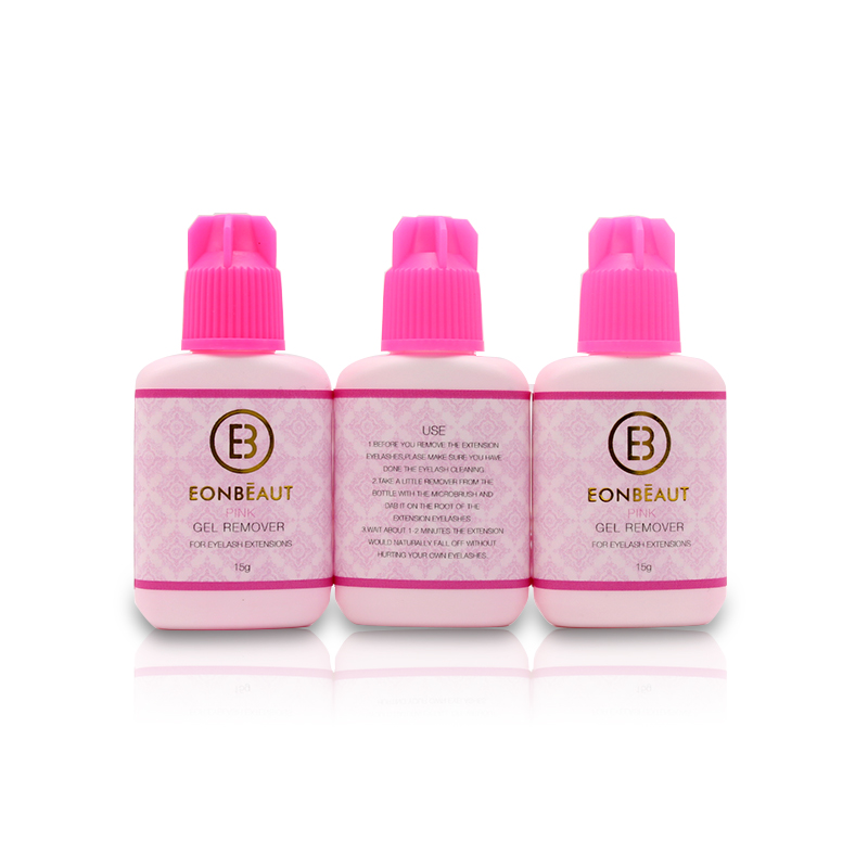pcs cola de cilios gel removedor rosa 02