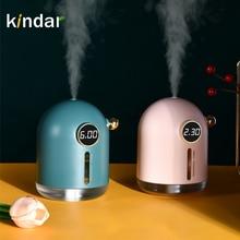Kindar umidificador de ar 300ml submarino ultra-silencioso seis engrenagens usb aroma essencial luzes led noite lâmpada purificador de ar
