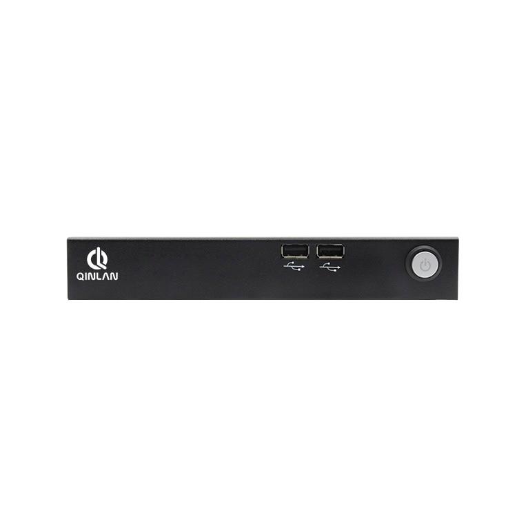 QINLAN Mini PC HTPC BAREBONE Media Center Intel Cerelon J1900  Quad Core 4 Threads 2.0 GHz HDMI LAN Ram 8GB SSD256GB 1TBHDD