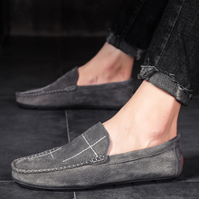 Men Shoes leather Loafers Comfortable Men Casual Shoes Footwear Chaussures Flats Men Slip On Lazy Shoes Driving shoes mycolen 2018 men slip on loafers shoes leather comfortable designer male flats trendy high quality shoes chaussures homme