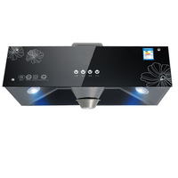 Large Suction Range Hood Top Suction Wall-mounted Chinese Range Hood Exhaust Hood Household
