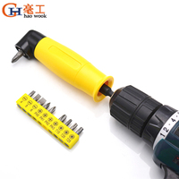 Electric Drill Right Angle Extension 90 Degree Batch Bender Cornerer Turn Labor-Saving Bending Positive Negative Screwdriver