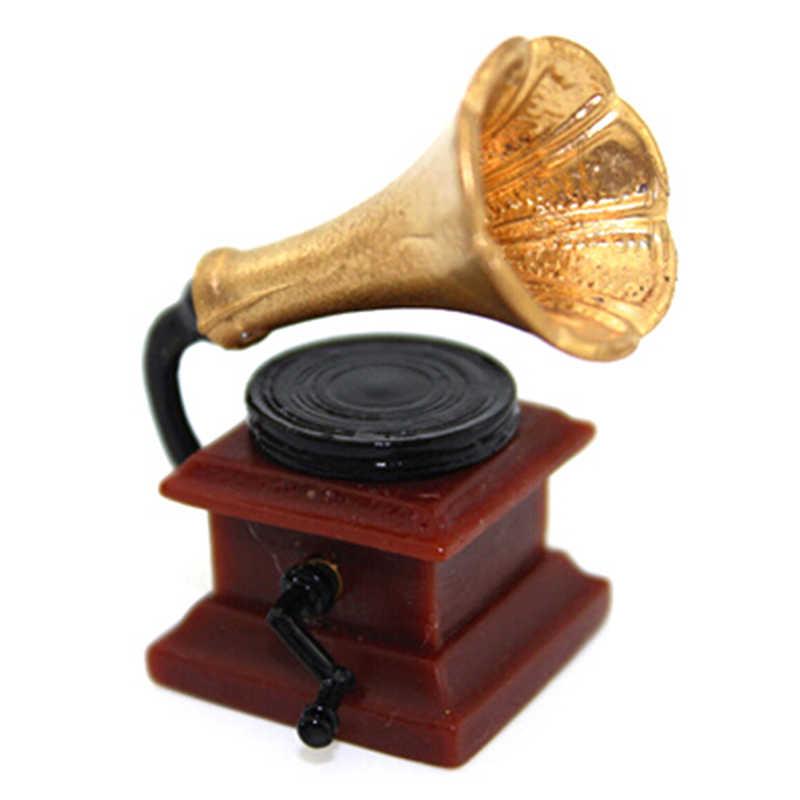 مصغرة الفواكه سلة مكنسة مصباح زيتي صندوق خزانة المجوهرات الجدول بوعاء النباتات الزهور مزلقة هدية صندوق 1:12 دمية اكسسوارات الديكور