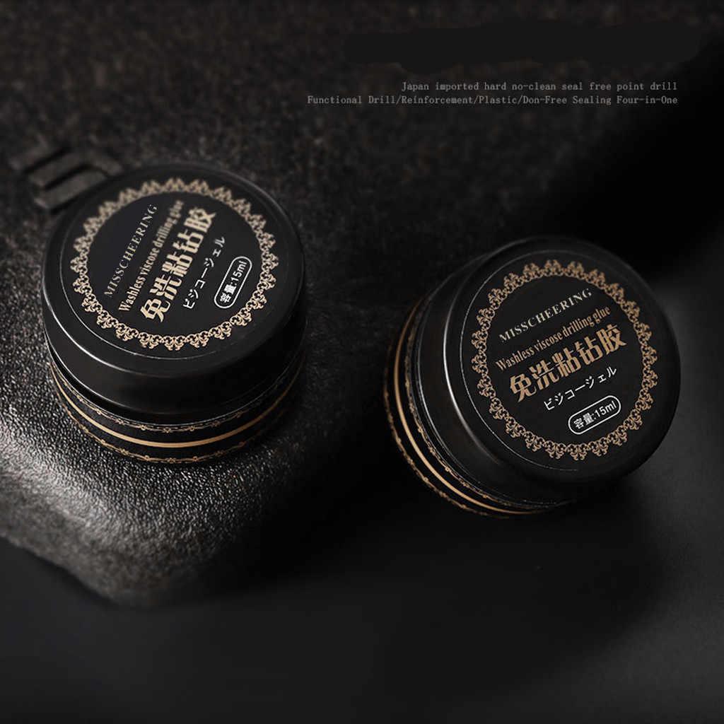 נייל אמנות דבק ג 'ל מניקור דבק ריינסטון מדבקת דבק תכשיטי קשה איטום שכבה מחוזק ויסקוזה קידוח דבק
