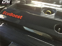 Apto para o FORD MUSTANG radiador tampa do capô capô do motor do motor do motor de Carbono