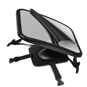Image 2 - Adjustable Baby Car Mirror Car Back Seat Safety View Rear Ward Facing Car Interior Baby Kids Monitor Reverse Safety Seats Mirror