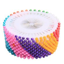 480 PCs Round Head Dressmaking Wedding Faux Pearl Sewing Pins Decorating Craft Tailor Clothing