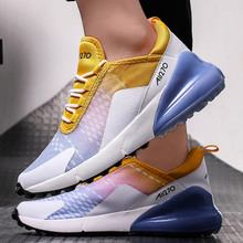 Women sneakers Air mesh Breathable Plus size 36-46 Height increasing Chunky sneakers Damping Fashion Super star Tenis feminino 2017 new arrival popular women casual female breathable height increasing shoes shake tenis feminino air mesh sandals 1613