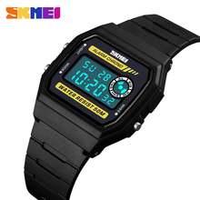Часы наручные skmei женские с браслетом из ПУ кожи модные спортивные