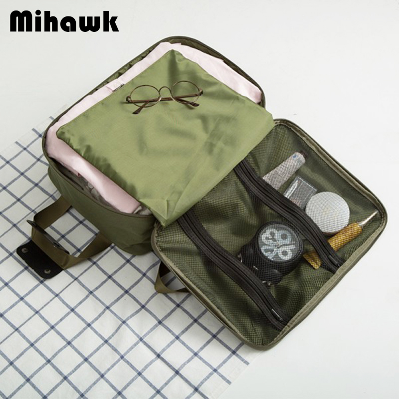 Mihawk Men's Luggage Travel Bags Carry-on Duffle Bag With Shoulder Strap Foldable Clothes Toiletry Organizer Accessories Supply