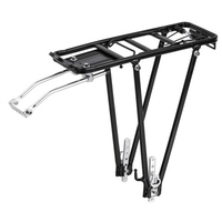 Rear Pannier Rack Mountain Bike Shelf Aluminum Alloy Carrier Accessories Bicycle Cycle Seat