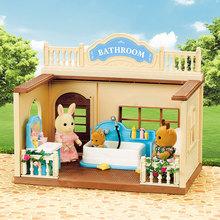 2021 nowa rodzina leśna 1 12 słoń łazienka miniaturowe akcesoria wanna zestaw toaletowy domek dla lalek Vanity Decoration na prezent dla dzieci tanie tanio MSFTOYS Model MATERNITY 4-6y 7-12y 12 + y 18 + CN (pochodzenie) PIERWSZA EDYCJA Produkty na stanie Unisex Wyroby gotowe
