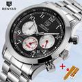 Новые мужские часы модные кварцевые мужские наручные часы BENYAR Топ Роскошные Брендовые Часы мужские водонепроницаемые хронограф Relogio Masculino