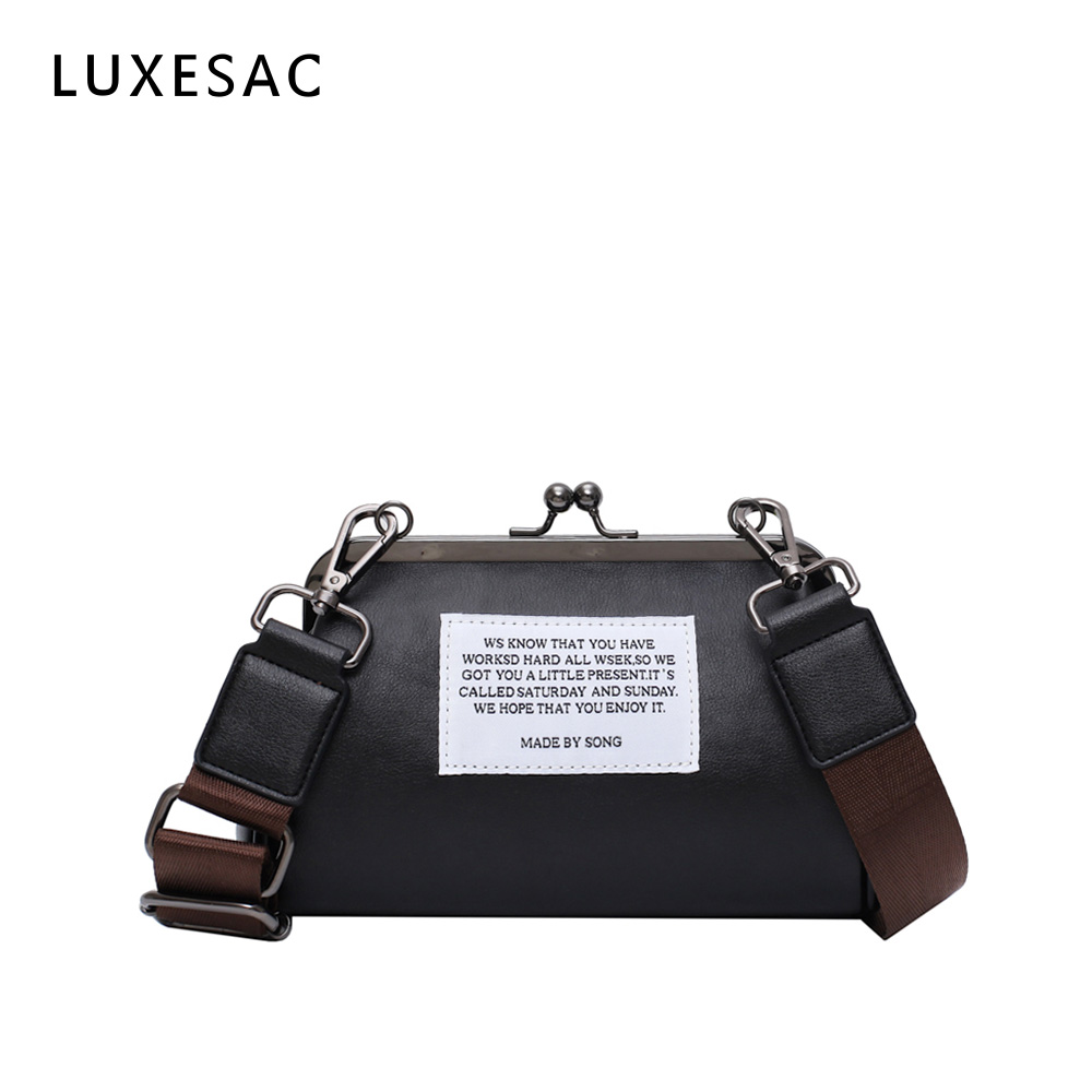 Fashion Bowling Crossbody Bags For Women With Wide Strap Bolso Mujer Retro Pu Leather Ladies Messenger Bag Women Shoulder Bag