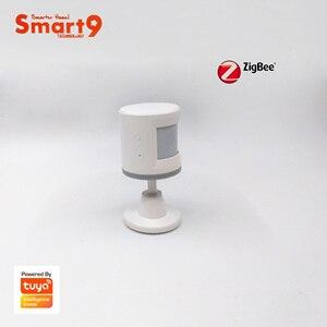 Image 3 - Smart9 ZigBee PIR Sensor With Foot Stand Motion Detect working with TuYa ZigBee Hub, Human Body Movement Detect, Powered by TuYa