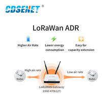 LoRaWAN SoC ASR6501 868MHz LoRa Module 21dBm Wireless Transceiver SMD IPEX Stamp Hole Connector TCXO RF Radio