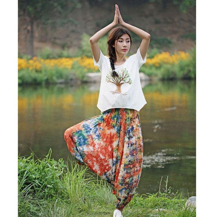 All Nepal Haren Pants Tie-dyed Pants Tsumugi Leisure Tourism Crotch Pants  Indian Dress Kurti Kurta For Women