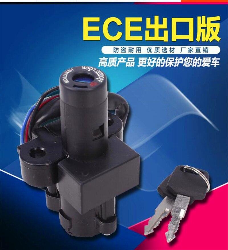 Motorcycle Ignition Switch Locks With 2 Keys For  CM CB 400 450 CB400 CB450 CM400 CM450 Hondamatic CB400T Hawk 400