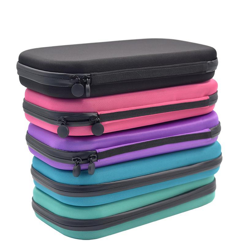 EVA Hard Case For Stethoscope Bag Multifunction Medical Organizer Storage Box Mesh Pocket Fits Sphygmomanometer And Penlight