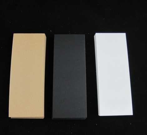 Special Paper Bookmark Card Hand-Painted Card Holland White Card Kraft Liner Board Black Card 16*6CM