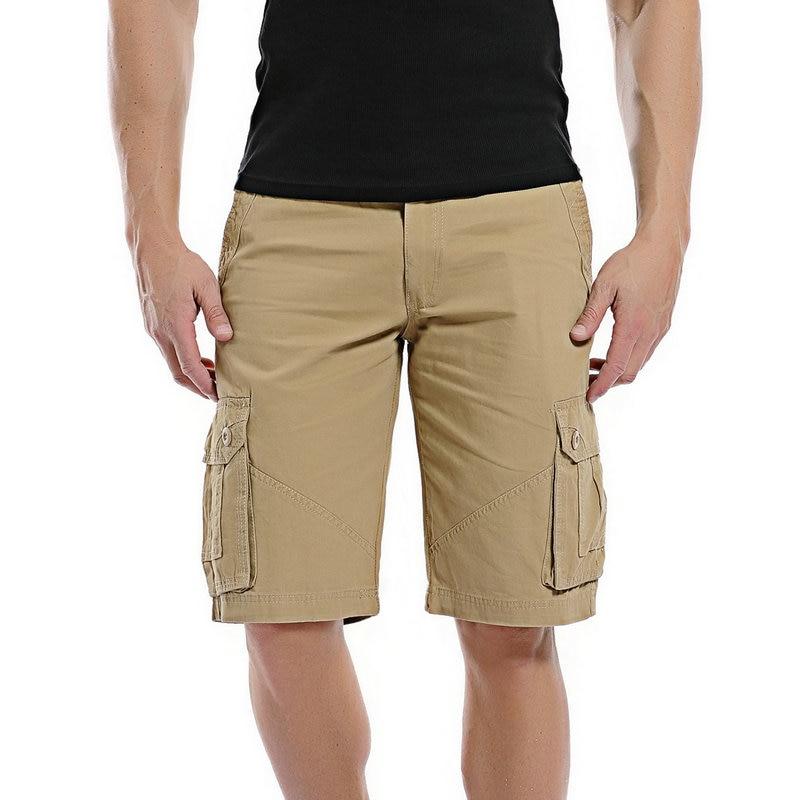 Summer Cargo Shorts Men 2020 Casual Cotton Shorts For Man