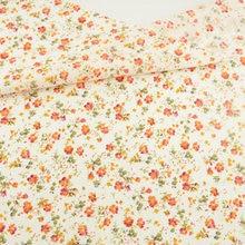 100% cotton fabric flower designs patchwork doll scrapbooking