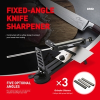Creative Design Professional Fixed-angle Knife Sharpener With 3 Whetstones Grindstone Knives Sharpening Machine