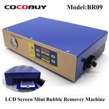 Novecel 220V высокое давление изогнутый плоский экран lcd машина для удаления пузырьков lcd ремонт инструмент нужен внешний вакуумный насос