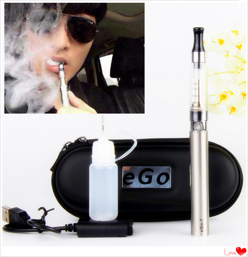 Electronic Cigarette Ego Ce5 Vape Pen Kit Smoking Pipe 900mAh Ego-t Battery With USB Charger E Cig Zipper Case Kits For E Liquid