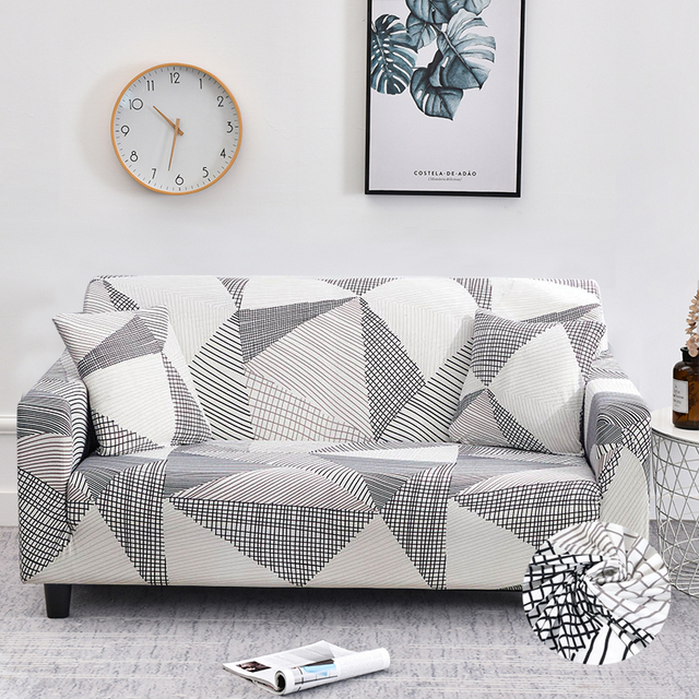 stretch sofa cover set 1/2/3/4 seater elastic couch cover sofa covers for living room pets slipcover chair sofa towel funda sofa
