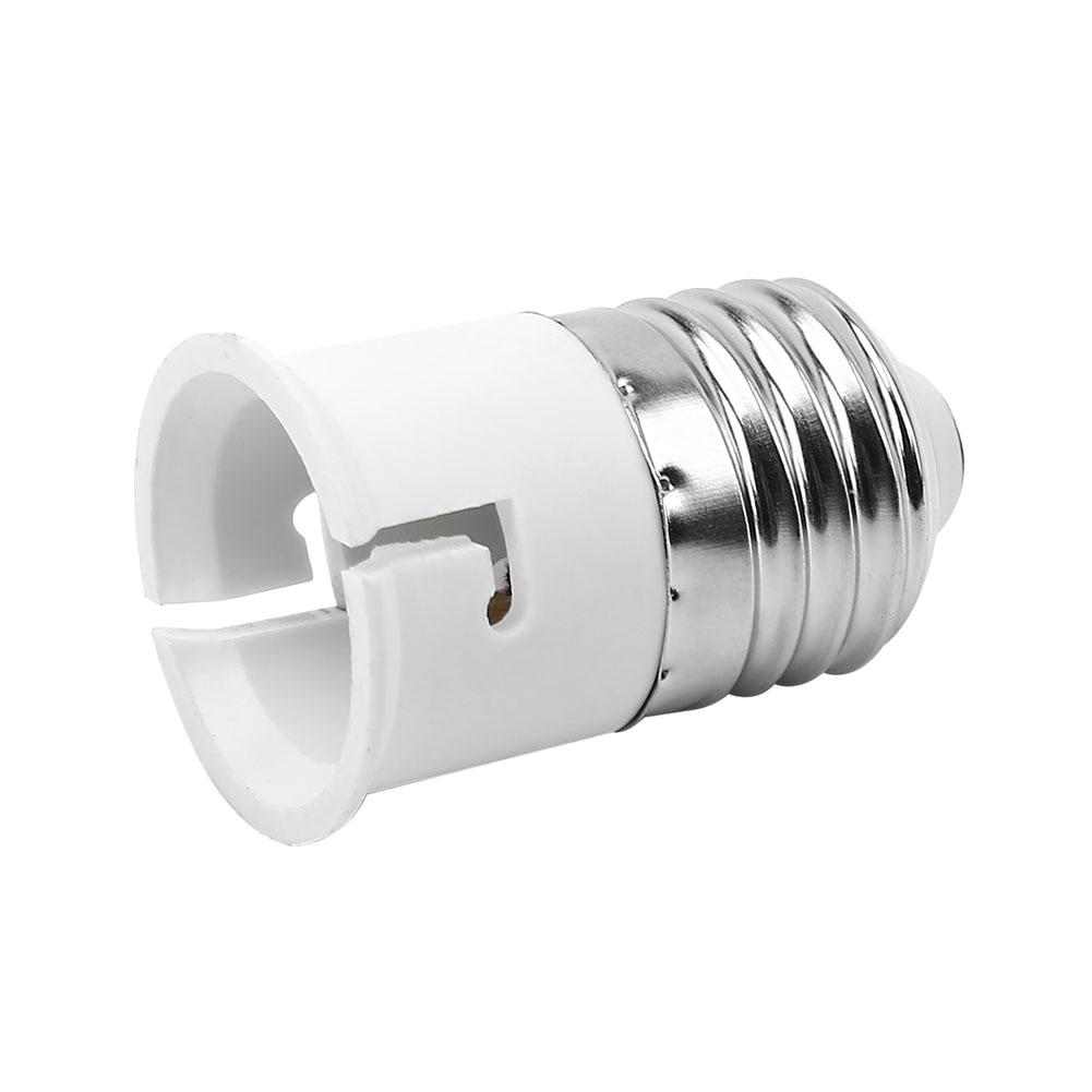 Light Sockets Bulb Converter Converter Lamp Holder Lighting Accessories Home Decor Plug Adapters E27 To B22 Durable Socket
