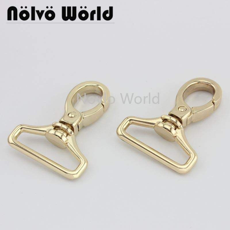 4 Pieces Test, 49*29.6mm Small Quantity  Metal Strap Buckle For Bags, Dog Collar Lobster Clasp Snap Hook Hardware Accessories
