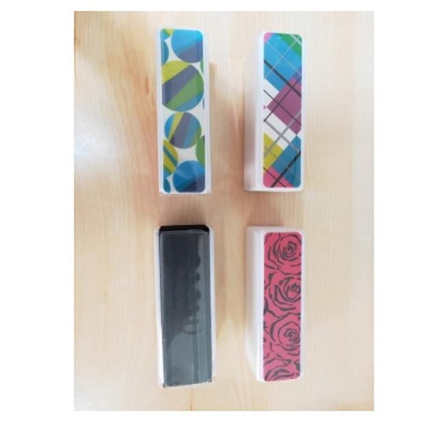 1pcs Nail Block Buffers File Pedicure Sanding Sponge Nail Art Care Tools Polishing Nails Grinding Strips Colorful Manicure 4