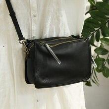 Marke Designer Handtaschen Kleine Frauen Tasche Aus Echtem Leder Klappe Schulter Tasche Casual Drei-schicht zipper Damen Umhängetaschen Weiblich