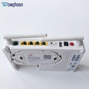 Image 1 - 2019 חדש דגם ZTE F677 GPON ONU 1GE + 3FE + 1Tel + 1USB + Wifi אותו פונקצית F623 F663N f660, אנגלית גרסה