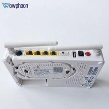 Zte f677 gpon onu 1ge + 3fe + 1tel + 1usb wifi, versão em inglês
