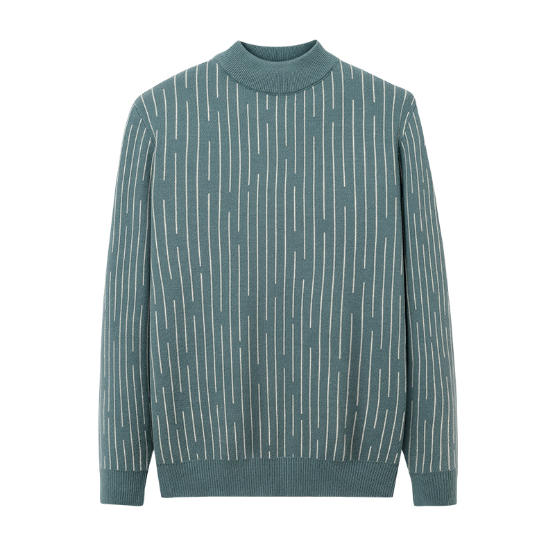 NEW 2021 Fashion Striped Men Sweater Autumn Winter Designer Pullover Knitted Sweaters Mens Wear Knitwear Fashion Clothing