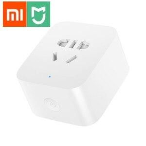 Image 1 - New Xiaomi Mijia Smart Socket Bluetooth Gateway Edition Dual USB Smart WIFI Socket Power Adapter Mijia Smart Home Device