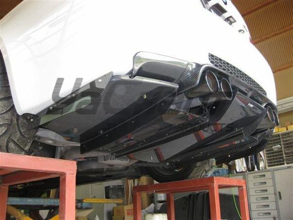 Diffuseur arrière en Fiber de carbone pour diffuseur de pare-chocs arrière 2007-2011 E92 E93 M3 VS Style avec lèvre arrière