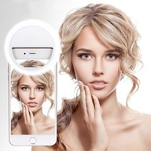 Selfie-Lamp-Ring Enhancing Fill-Lights Portable Clip Phone-Camera Night-Darkness Led
