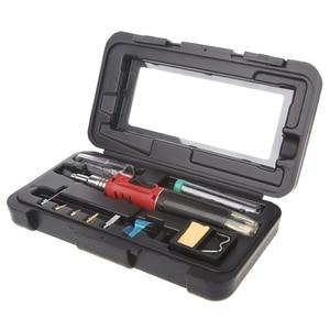 10 в 1 HS-1115K бутановый Газовый паяльник набор для сварки фонарь инструмент HT-1934K SC