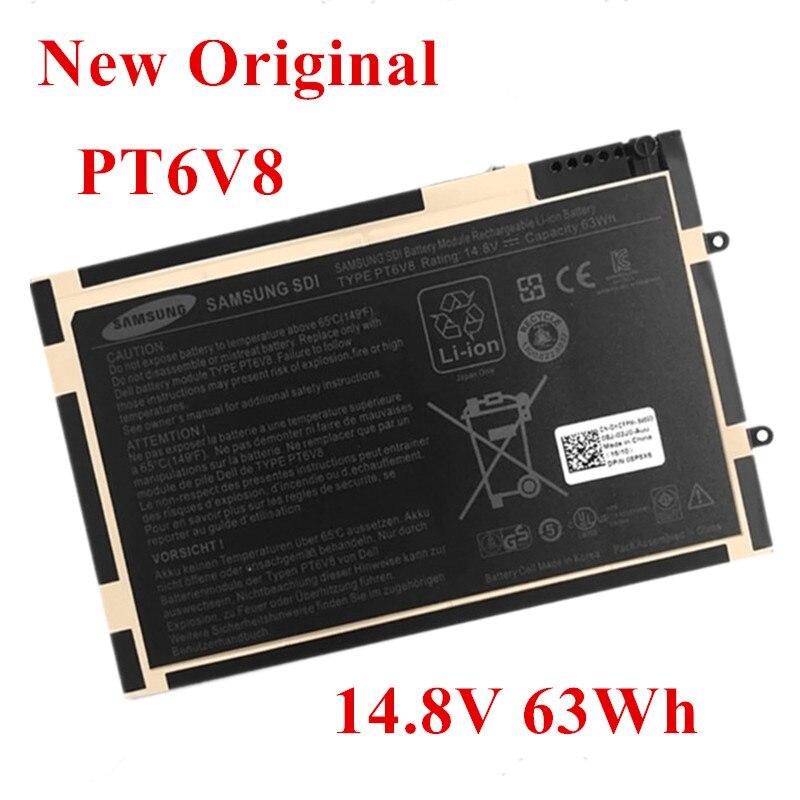 New Original Laptop Replacement Li-ion Battery For DELL Alienware  M11X M14X R1 R2 8P6X6 PT6V8 P18G 14.8V 63Wh