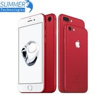 Original Apple iPhone 7/7 Plus Quad-Core teléfono móvil 12.0MP Cámara IOS 4G LTE huella utilizado Smartphone